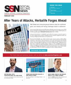 Social Selling News cover February 2019